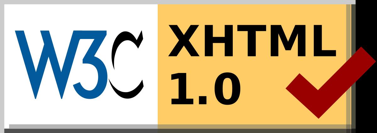w3c xhtml1.0